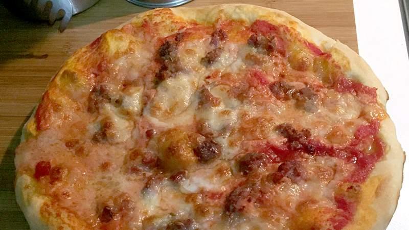 fare pizza col bimby